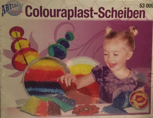 53.009 Hobbyfun Colouraplast smeltgranulaat set hart