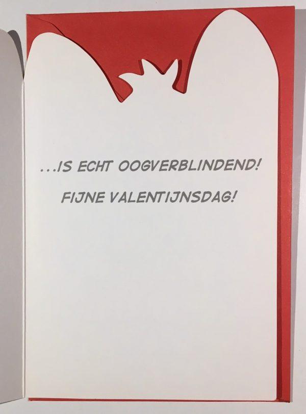 Hobbyfun 2837 Valentijnskaart, Oogverblindend