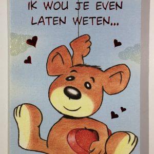 Hobbyfun 2838 Valentijnskaart, Valentijntje