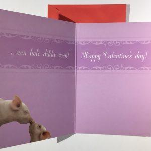 Hobbyfun 2850 Valentijnskaart, Dikke zoenzoen