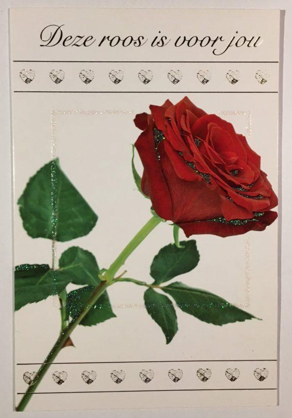 Hobbyfun 2855 Valentijnskaart, Roos voor jou