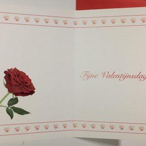 Hobbyfun 2856 Valentijnskaart, Roos voor jou
