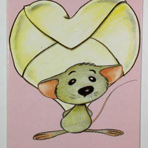 Hobbyfun 2857 Valentijnskaart, Kleine verrassing