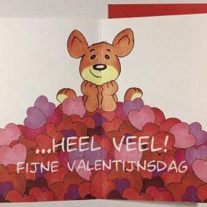 Hobbyfun 2862 Valentijnskaart, Denk aan je