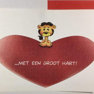 Hobbyfun 2880 Valentijnskaart, Groot hart