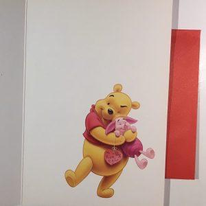 Hobbyfun 2883 Valentijnskaart, Winnie the Pooh