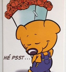 Hobbyfun 2923 Valentijnskaart, Hé psst ...
