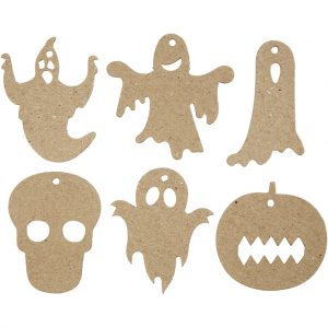 99090 Hobbyfun Halloween decoraties, papier-maché