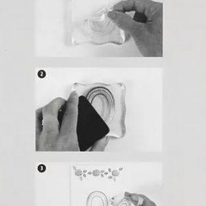 acrylblock voor silicone stempels