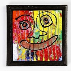 226500-1 Canvas paneel met lijst