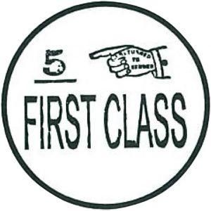 27560_2 Hobbyfun Stempel First Class first class