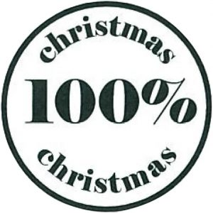 27561 Hobbyfun Stempel 100% christmas
