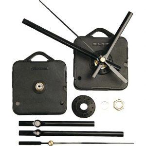 131240 Hobbyfun Uurwerk, zwart, afstand 3mm