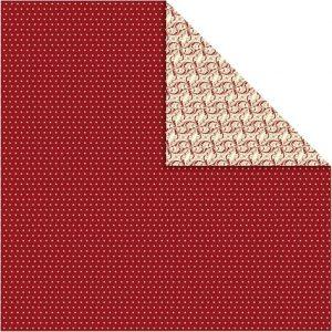 22242 Hobbyfun Design Papier, decoratief, rood