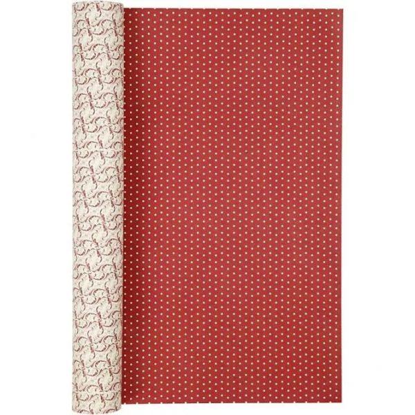 22242_1 Hobbyfun Design Papier, decoratief, rood