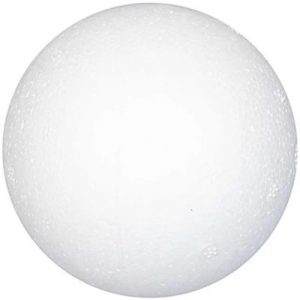 543062 Hobbyfun Piepschuim bal, d:6cm.