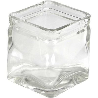 55812 Hobbyfun Vierkant glas 5,5x5,5x5,5 cm.